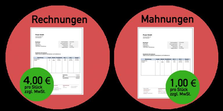 Rechnungen und Mahnungen schnell und günstig geschrieben | Heilpraktiker Abrechnung